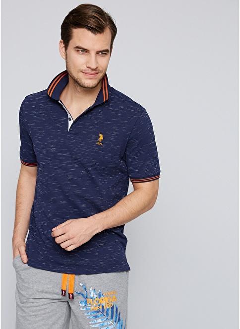 U.S.Polo Assn. Polo Yaka Tişört  Lacivert